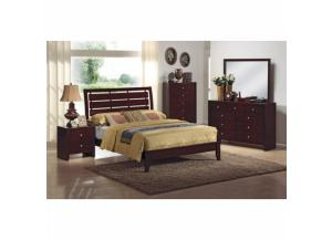 Evan Twin Bed, Dresser, Mirror, Chest and Nightstand
