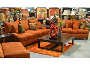 The Furniture Shop Duncanville Tx Copper Sofa And Loveseat Set